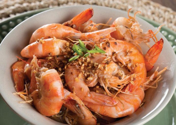 receitas com camarão