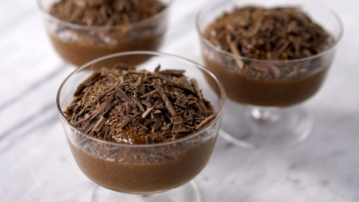 Receitas de mousse de chocolate